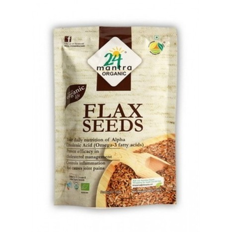 Buy Flax Seeds by 24 Mantra | Natural Health Products, Organic Food & Health Supplements | Scoop.it