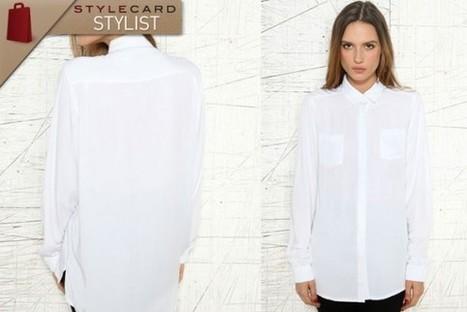 StyleCard Stylist: The White Shirt | StyleCard Fashion Portal | StyleCard Fashion | Scoop.it
