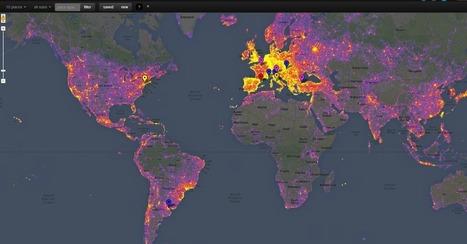 The Most Photographed Cities on Earth, According to Google | Tjänster och produkter från Google och andra aktörer | Scoop.it
