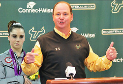 McKayla Maroney not impressed with USF | UCF Sports | Scoop.it