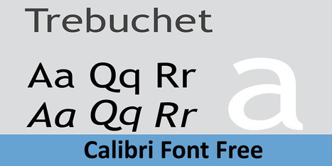 Calibri Font Free Download | Pro Templates Lab | Scoop.it