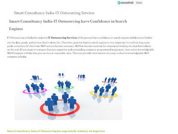 itoutsourcinginindia | Smart Consultancy India is among the leading independent IT Outsourcing, BPO Services and KPO services consultant in the Universal. | Scoop.it