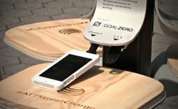 Vidéo : des chargeurs solaires pour portables débarquent à New York | Courant Positif | Remembering tomorrow | Scoop.it