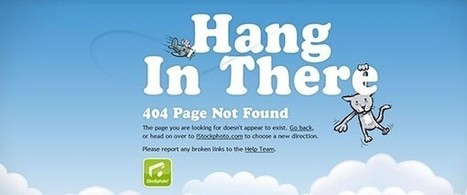 30 Creative 404 pages | CSSReflex | Nerd Alert | Scoop.it