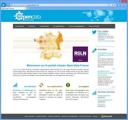 A la découverte du nouveau portail Citoyen Open Data - MSDN Blogs | [Open data] | Scoop.it