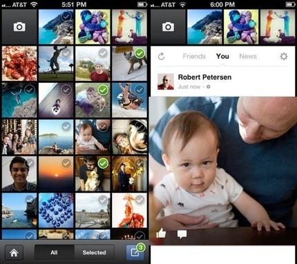 Facebook retire les applications Poke et Appareil photo de l'App Store | Découvertes web | Scoop.it