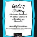 Reading Fluency Rubrics and Assessments for RtI Grades 9-12 | Middle School Language Arts | Scoop.it