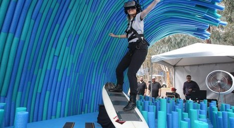 UCSD woos students with virtual reality surfing | Culture numérique | Scoop.it
