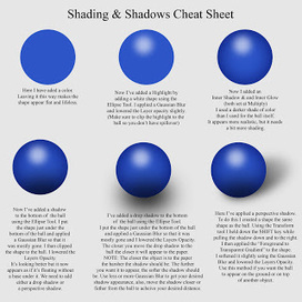 Just Creations Tutorials: Cheat Sheets - Shading/Shadows & Highlights: Created for Wilma4Ever.com   Artistic Line Designs-all free   Scoop.it