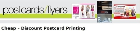 Complete Discount Postcard Printing Services | 1000s Postcard Printing | Scoop.it