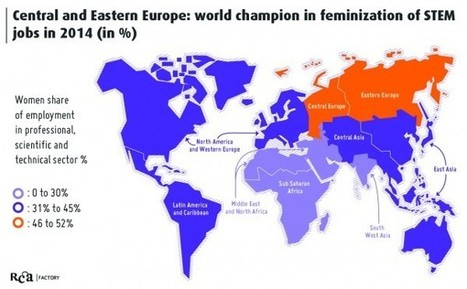 Blog JUMP » Feminisation of STEM studies has stopped in the western world! Asia and Eastern Europe are rising strong. | MutationnElles YFactor | Scoop.it