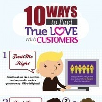 10 Ways To Find True Love with Customers | Visual.ly | Manipulative Marketing | Scoop.it