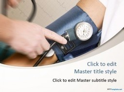 Free Blood Pressure PPT Template | Business PPT Templates | Scoop.it