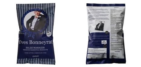 Un paquet de chips détourné en CV pour postuler chez Tyrrells | Communication, marketing & agroalimentaire | Scoop.it