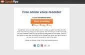 SpeakPipe Voice Recorder - A Quick Way to Create MP3 Recordings | You can never be overdressed or overeducated (Oscar Wilde) | Scoop.it