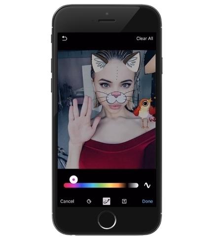 Telegram s'inspire de Snapchat pour moderniser son éditeur de photos | Actualité Social Media : blogs & réseaux sociaux | Scoop.it