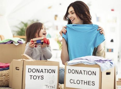 Moving tip: Donate some of your things that you might not use anymore! | Christos & Christos Moving | Scoop.it