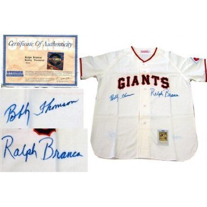 Bobby Thomson Autographed Jersey Fransisco | Sport Outdoor | Scoop.it