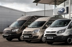 Ford's share of European medium van market highest in a decade - FleetNews | Gross Vehicle Mass Upgrades | Scoop.it