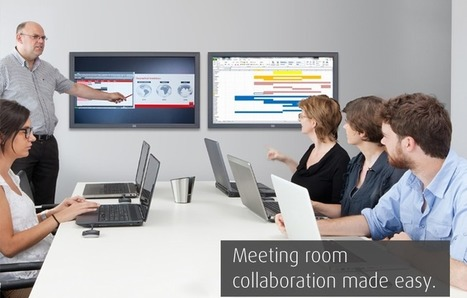 ClickShare: Wireless Presentation Device for Standard Meeting Rooms | Meeting Room Tool | Scoop.it