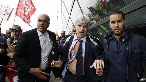 FRANCE: Bosses lose their shirts | Criminology and Economic Theory | Scoop.it