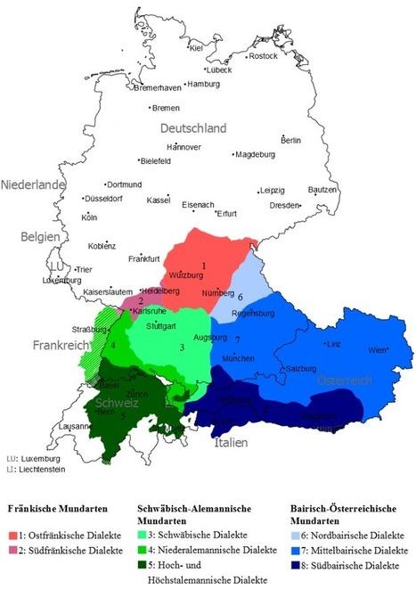 An Introduction to Bavarian | German Language Blog | German ... | Learn to speak German | Scoop.it