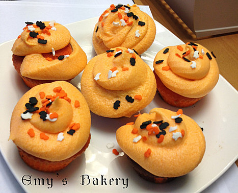 Cupcakes chocolat orange d'Halloween - [RECETTE] | Food, Bakery & Restaurant Business all over the world | Scoop.it