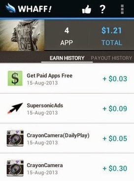 Whaff App Earn money and Free vouchers | Blogging | Scoop.it