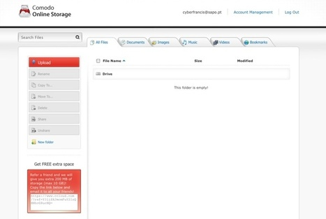 Comodo Online Storage – Disco duro virtual de 5 GB   Aplicaciones y Herramientas . Software de Diseño   Scoop.it
