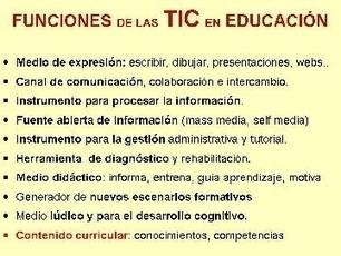 Funciones de las tic en la educación | uso de las tic en la gestión administrativa | Scoop.it
