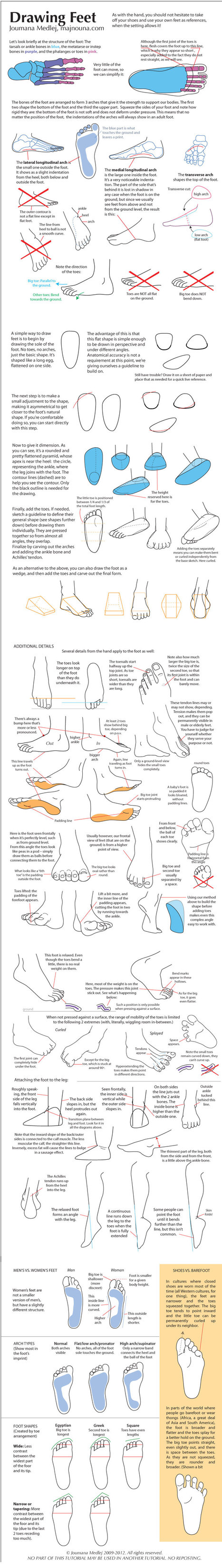Drawing Feet: One Step at a Time   art sculpture enseignement   Scoop.it