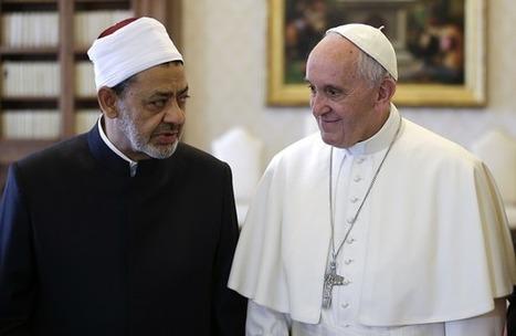 Pápež prijal veľkého imáma univerzity Al-Azhar | Správy Výveska | Scoop.it