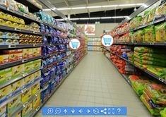La visite virtuelle appliquée à un hypermarché franc-comtois | Déclencher l'achat - Shopper marketing | Scoop.it