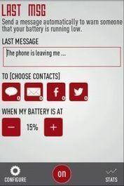 Last Message alertará a contactos concretos antes de agotarse la batería [Android]   Uso inteligente de las herramientas TIC   Scoop.it
