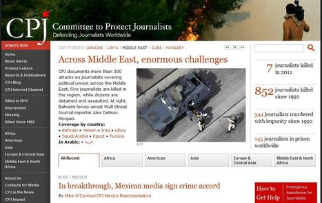 Committee to Protect Journalists | Top sites for journalists | Scoop.it