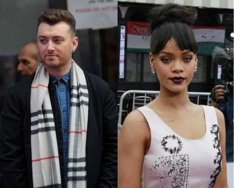 Rihanna is desperate to make sweet music with Sam Smith | Entertainment | Scoop.it