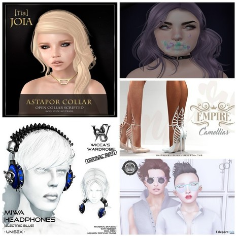 Several Second Life 13th Birthday Gifts at The Fantasy Collective   Teleport Hub - Second Life Freebies   Second Life Freebies   Scoop.it