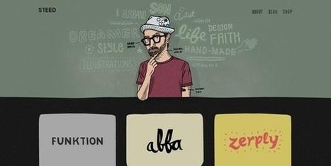 20 web design illustrés pour trouver l'inspiration - webdesign-inspiration | CRAW | Scoop.it