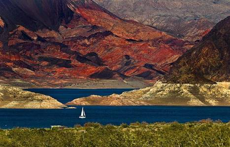 Drought reveals spooky stuff in Lake Mead—and gives a boost to tourism | Conformable Contacts | Scoop.it