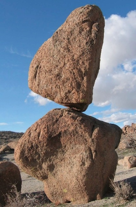 Why 10,000-Year-Old Gravity-Defying Rocks Haven't Toppled | Conformable Contacts | Scoop.it