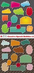Vectors - Creative Speech Bubbles 17 | My Media | Scoop.it