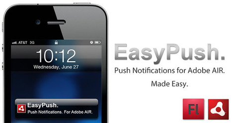 Push Notifications for Adobe AIR on iOS! « Milkman Games | Flash Developer Diary | Scoop.it