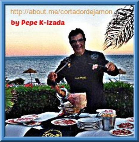 Cortador de jamón en su ambiente natural de la COSTA DEL SOL   JAMON IBERICO   Scoop.it