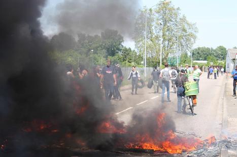 Le port aux pétroles brièvement bloqué par une trentaine de manifestants - Rue89 Strasbourg | Strasbourg Eurométropole Actu | Scoop.it