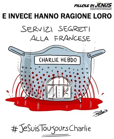 CHARLIE HEBDO, LA VIGNETTA CHE IRRIDE I FRANCESI | Professional Security Agency | Scoop.it