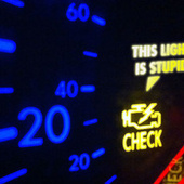 Why The 'Check Engine' Light Must Be Banned   The DATZ Blast   Scoop.it