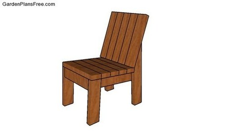 Outdoor Chair Plans | Free Garden Plans - How to build garden projects | Garden Plans | Scoop.it