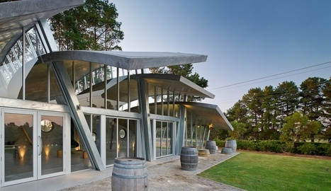 Concrete + Context: Winery Pavilion at Leura Park by Centrum Architects | sustainable architecture | Scoop.it