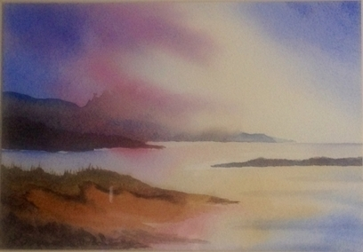 Artwork: Misty Morning - Open House Art | Art - Crafts - Design | Scoop.it