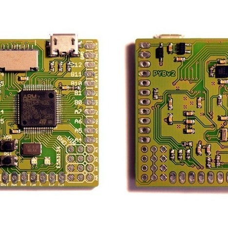 Micro Python: more powerful than Arduino, simpler than the Raspberry Pi (Wired UK) | Cultura Libre | Scoop.it